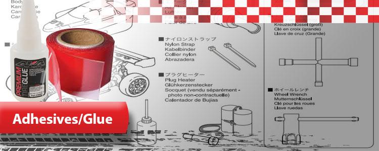 Glue, Oil & Cleaners