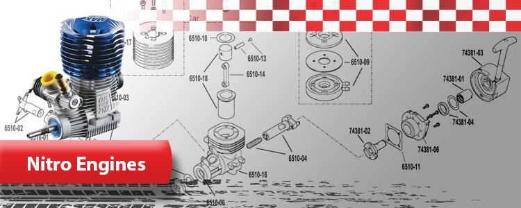 Nitro/Gas Engines