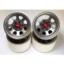 hrablw22s18 steel 2.2 beadlock 6-lug wagon wheels for 12mm hex (raw) (4)
