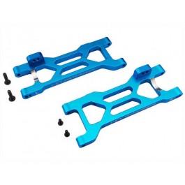 hraect5606 aluminum rear sb suspension arm set (blue) - ecx 2wd