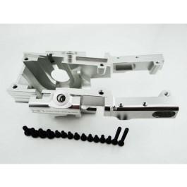 hrarvo1208 secure lock front bulkhead 1 10 revo - silver