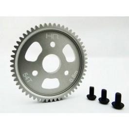 hraslf254t aluminum slipper spur gear (54t 0.8m 32p) - tra 4x4