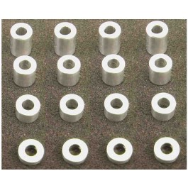 hraspc3006 m3 aluminum standoff spacer set (4x)(2-4-6-8mm)