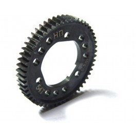 hrasslf254d steel spur gear for center diff (54t 0.8m 32p) - tra 4x4