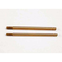 TRA2656T Traxxas Shock shafts, hardened steel, titanium nitride coated
