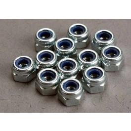 TRA2745 Traxxas Nuts, 3mm nylon locking
