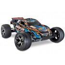 Traxxas 37076-4-ORNGX Rustler VXL Brushless 1/10 RTR Stadium Truck w/ TQi 2.4GHz Radio and TSM