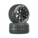 Duratrax DTXC3542 Bandito ST 2.8 inch Truck 2WD Mounted Rear C2 Black (2)