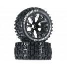 Duratrax DTXC3564 Lockup ST 2.8 2WD Mounted Front Black (2)