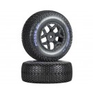 Duratrax DTXC3699 Posse SC Tires C2 Mounted Losi Ten SCTE 4x4 - pair