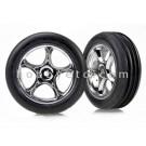 TRA2471R Traxxas Tires & wheels, assembled