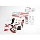 TRA3713R Traxxas Decal sheets, Rustler VXL