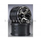 TRA5577A Traxxas Wheels, All-Star 2.8'