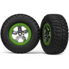 TRA5865 Traxxas Tires & wheels, assembled, glued