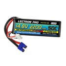Lectron CSR4S2200-50E Pro 14.8V 2200mAh 30C Lipo Battery with EC3 Connector for EDF Jets Quads Etc