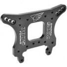 Team Corally 00180-674 Shock Tower - XTR - Front - 7075 Aluminum - 5mm - Black - 1 Pc