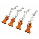 hraac03ez03 1 10 orange aluminum ez pulls (4) body clips (8)