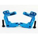 hraect1906 aluminum caster blocks (blue) - ecx 2wd