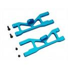 hraect5506 aluminum sb front suspension arm set (blue) - ecx 2wd