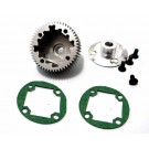 hrasct38xh hard anodized aluminum differential gear and cover b4 t4 sc10