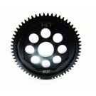 hrasofe60m05 steel 60t 0.5mod spur gear - 1 14 losi vaterra