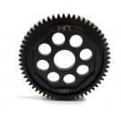 hrasofe858 steel 58t 48p spur gear - 1 14 losi vaterra