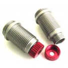 hravxs15502 aluminum hard anodized shock body (red) - traxxas 1 16