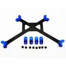 hrayet126g06 carbon fiber battery holder strap - axial yeti