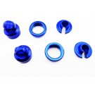 hrayet15606 aluminum 10mm shock upgrade kit (blue) - yeti wraith ax10 exo