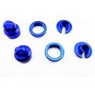 hrayet15606 aluminum 10mm shock upgrade kit (blue) - yeti wraith ax10 exo