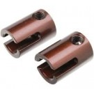 Team Corally 00180-155-X PRO Pinion Outdrive Cup - Swiss Spring Steel - 2 pcs