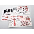 TRA2413R Traxxas Decal sheets, Bandit VXL