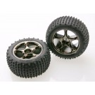 TRA2470A Traxxas Tires & wheels, assembled