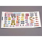 TRA2514 Traxxas Decal sheet, racing sponsors