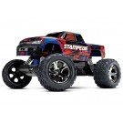 Traxxas 36076-4 RED Stampede VXL 1/10 Scale Monster Truck RTR w/TQi Radio System TSM