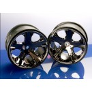 TRA3772A Traxxas Wheels, All-Star 2.8'