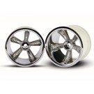 TRA4172 Traxxas TRX Pro-Star chrome wheels