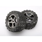 TRA5374X Traxxas Tires & wheels, assembled, glued