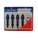 TRA5460A Traxxas Shocks, GTR aluminum, blue-anodized