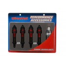 TRA5460R Traxxas Shocks, GTR aluminum, red-anodized