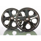 TRA5576A Traxxas Wheels, All-Star 2.8'