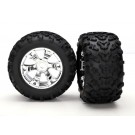 TRA5674 Traxxas Tires & wheels, assembled, glued