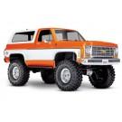 Traxxas TRA82076-4 ORNG TRX-4 Scale and Trail Crawler w/Chevy Blazer 1979 Body (Orange)