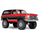 Traxxas TRA82076-4 RED TRX-4 Scale and Trail Crawler w/Chevy Blazer 1979 Body (Red)